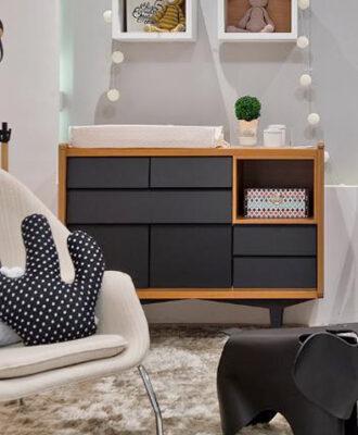 Cômoda retrô: 45 modelos para incrementar a decoração do seu quarto