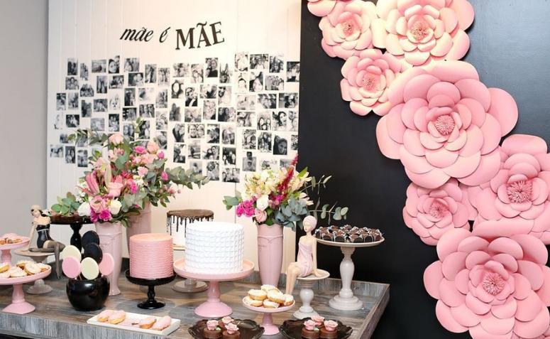 Decoraç u00e3o Dia das M u00e3es 65 ideias PERFEITAS para surpreender a sua # Decoração Dia Das Mães Em Loja