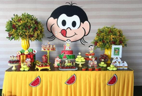 Festa da Magali: 50 ideias lindas, passo a passo e muita melancia