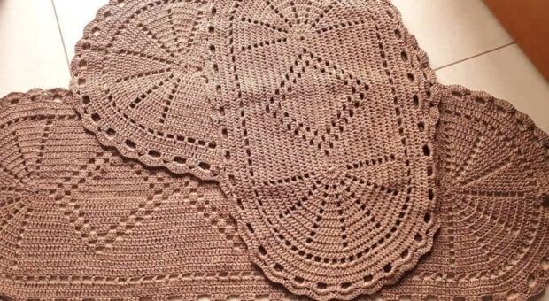 Jogo de cozinha de crochê: 80 modelos para você copiar e tutoriais
