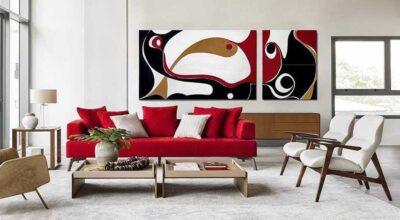 Sofá vermelho: 70 modelos irresistíveis para arrasar na decoração