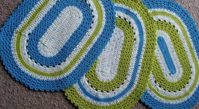 Tapete de crochê oval: 70 ideias e tutoriais para fazer em casa