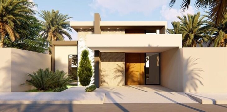 100 fachadas de casas modernas e incr veis para inspirar for Casa moderna 8