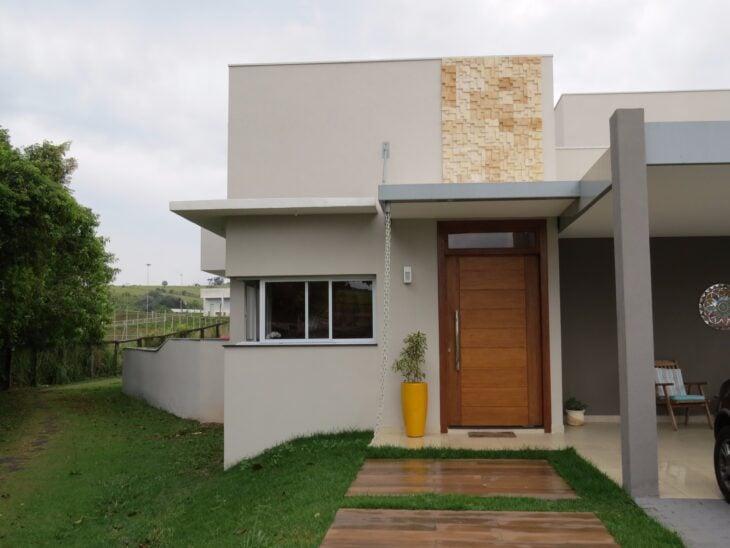 100 fachadas de casas modernas e incr veis para inspirar - Ver fachadas de casas modernas ...