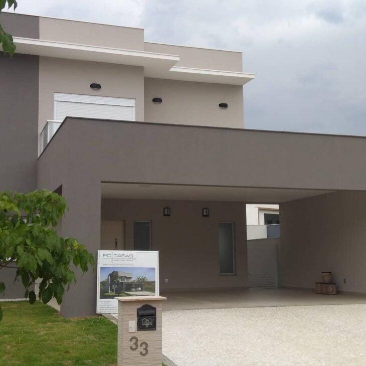 100 fachadas de casas modernas e incr veis para inspirar for Cores modernas para fachadas de casas 2013