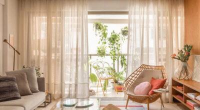 Tecido para cortina: tipos e 70 ideias graciosas para decorar sua casa