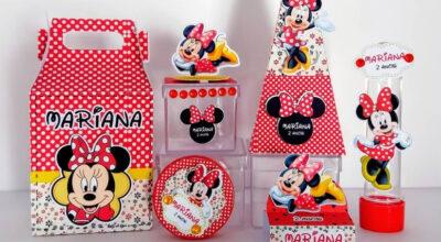 Lembrancinhas da Minnie: ideias e tutorias que te levarão para a Disney