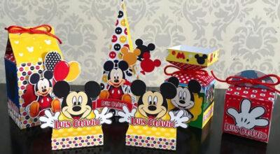 Lembrancinhas do Mickey: 85 ideias e tutoriais que são pura magia