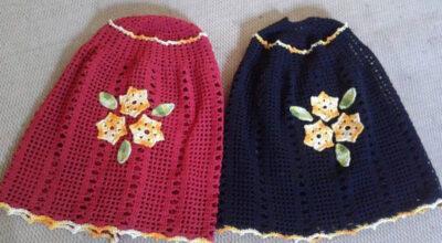 Capa de botijão de crochê: 35 ideias e tutoriais para decorar a cozinha