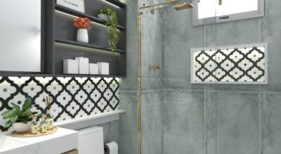 Cerâmica para banheiro: 70 propostas para decorar e inovar