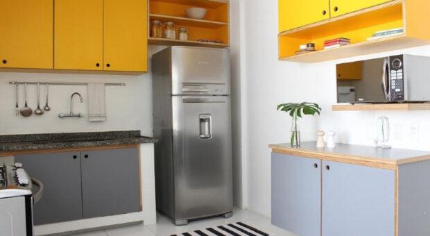 50 cozinhas simples para te inspirar na decoração da sua