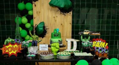Festa do Hulk: 60 ideias e vídeos para um evento esmagador