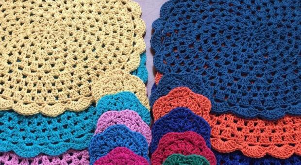 Guardanapo de crochê: inspirações e dicas para você começar a treinar