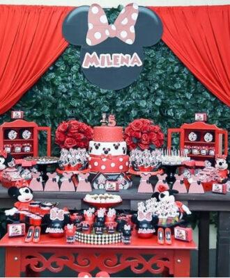 Festa da Minnie vermelha: 85 ideias para celebrar com charme