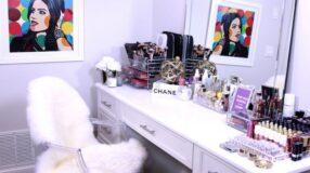 Penteadeira com espelho: 60 ideias para o cantinho da beleza