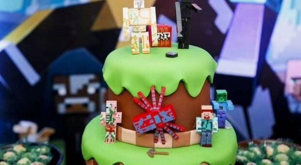 Bolo Minecraft: dicas e inspirações para um bolo criativo e original