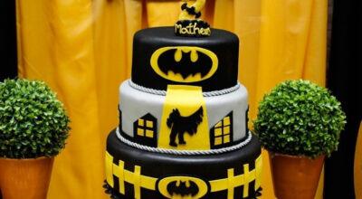 Bolo do Batman: 50 ideias originais para arrasar em sua festa