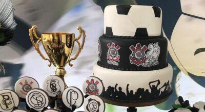 Bolo do Corinthians: 70 modelos para comemorar com o timão
