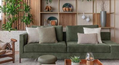 Sofá verde: 35 ideias que vão te convencer a ter um em sua sala