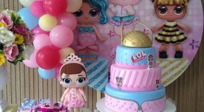 80 ideias de bolo da LOL e tutoriais criativos para uma festa fashion