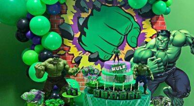Bolo do Hulk: 75 modelos para uma decoração de super-herói poderosa