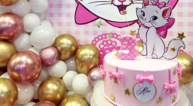 Bolo da gatinha Marie: 55 modelos delicados e muito fofos