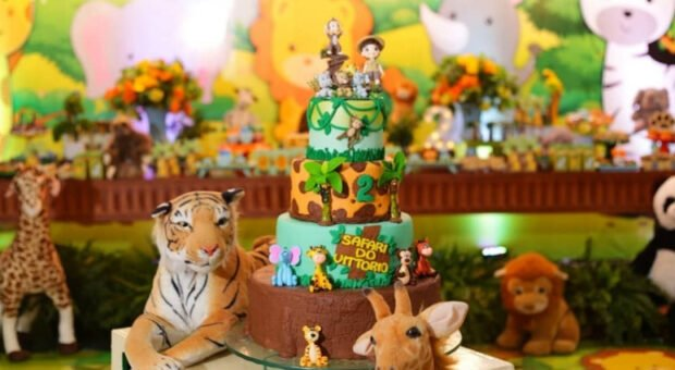 Bolo Safári: 80 modelos incríveis e tutoriais para uma festa animal