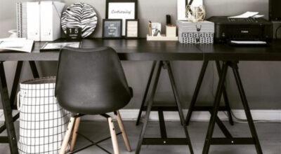 20 fotos de mesa cavalete e tutoriais para uma decoração moderna e acessível