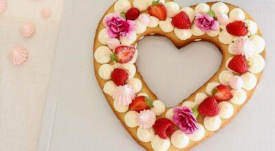 Bolo de coração: 55 ideias e tutoriais para celebrar com amor