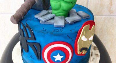 Bolo dos Vingadores: 50 modelos incríveis para uma festa superpoderosa