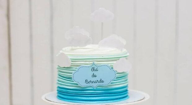 85 ideias incríveis de bolo para chá de fralda e como fazer o seu