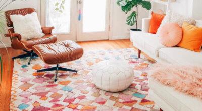 Tapete colorido: 50 modelos que vão deixar sua casa mais alegre