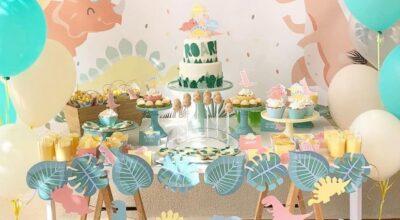 Bolo de dinossauro: 85 inspirações para incrementar a sua festa