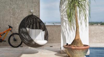 Cadeira de balanço suspensa: 30 ideias que unem charme e diversão