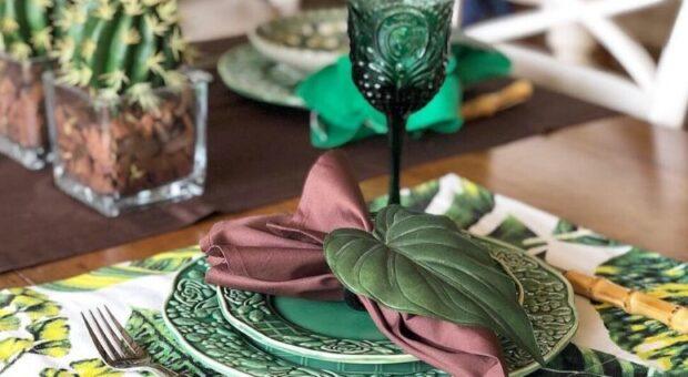 Jogo americano de tecido: modelos e dicas para decorar a sua mesa