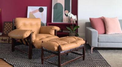 30 ambientes com a poltrona Mole que esbanjam conforto e estilo