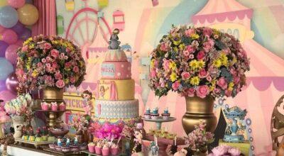 Festa circo rosa: 65 inspirações desse tema encantador