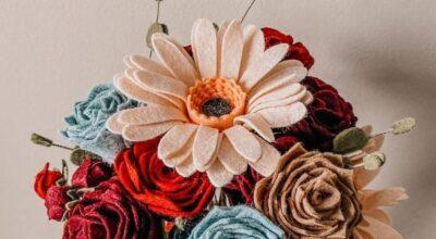Flor de feltro: aprenda a fazer e veja 70 modelos lindos e delicados