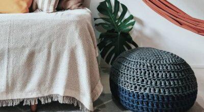 Puff de crochê: 30 inspirações e dicas para você caprichar na decoração