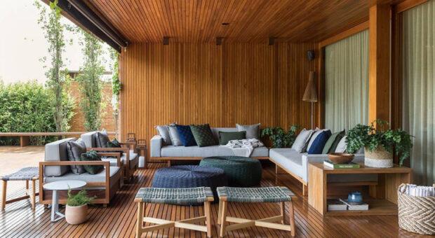 Sofá para varanda: 50 modelos que vão te fazer querer relaxar o dia todo