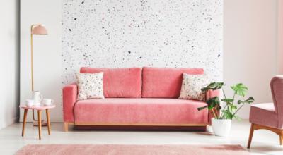Sofá rosa: 60 inspirações que provam a versatilidade desse móvel