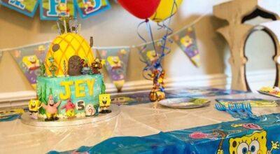 Bolo do Bob Esponja: tutoriais e 90 ideias para animar a festa
