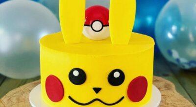 Bolo Pokémon: tutoriais e 90 ideias com essa animação lendária