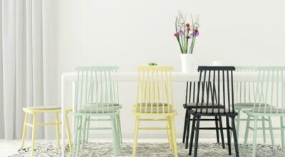 Cadeiras coloridas: 65 inspirações para alegrar seu lar