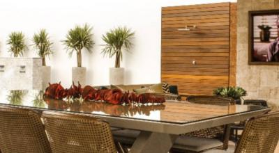 Área gourmet rústica: 80 decorações que trazem conforto e modernidade