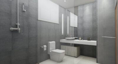 Banheiro cinza: 70 inspirações que provam sua versatilidade