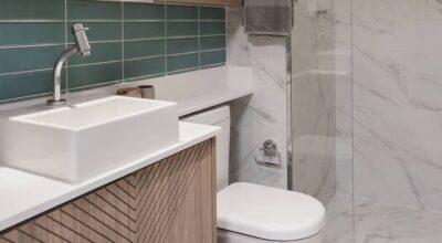 Banheiros pequenos: 85 projetos práticos e aconchegantes