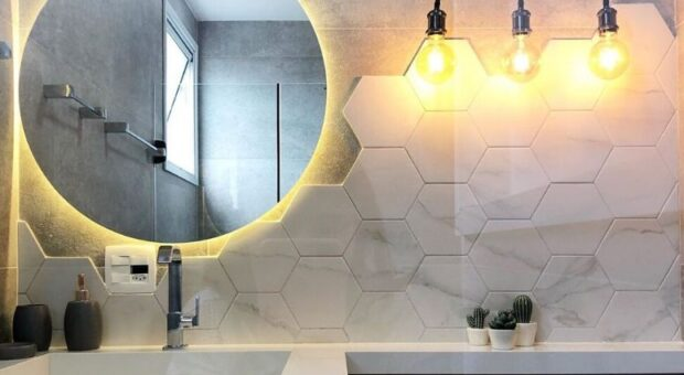 Espelho redondo para banheiro: 50 modelos modernos e versáteis