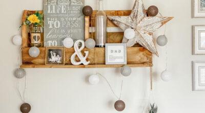 50 ideias de prateleira de pallet para uma decoração criativa e econômica