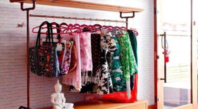 Arara de roupas de parede: 7 tutoriais para você fazer a sua